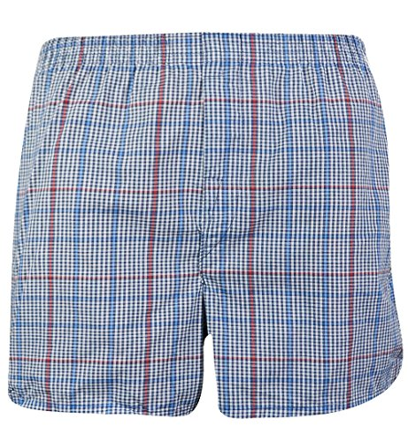Fruit of the Loom 5-Pack Tartan Boxers Size Extra Large