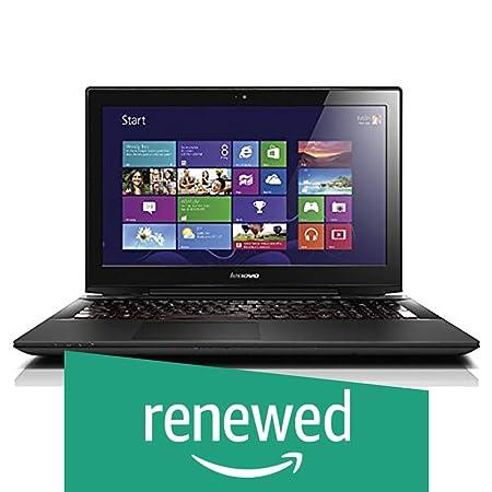 Renewed  Lenovo Y50 70 15.6 inch Laptop  4th Gen Core i7 4710HQ/8 GB/1TB/Windows 10/4 GB Graphics , Black Laptops
