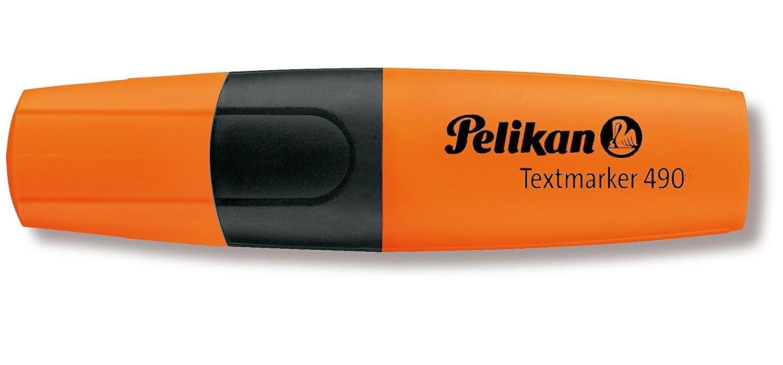 Pelikan 940403 Textmarker 490 10 St/ück Leucht-Orange