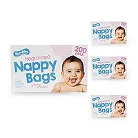Nappy bags Jumbo Box Original- 4 x 200 pack (800 in total)