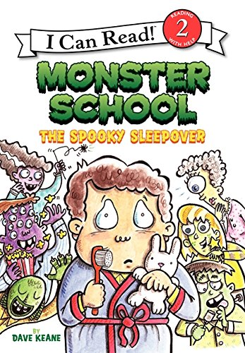 Monster School: The Spooky Sleepover (I Can Read Level -