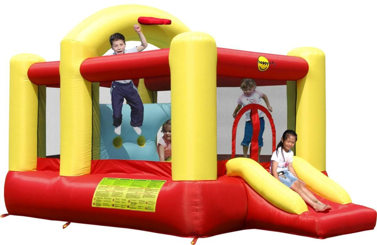 Happy Hop Multifunctional 14ft Bouncy Castle with Slide