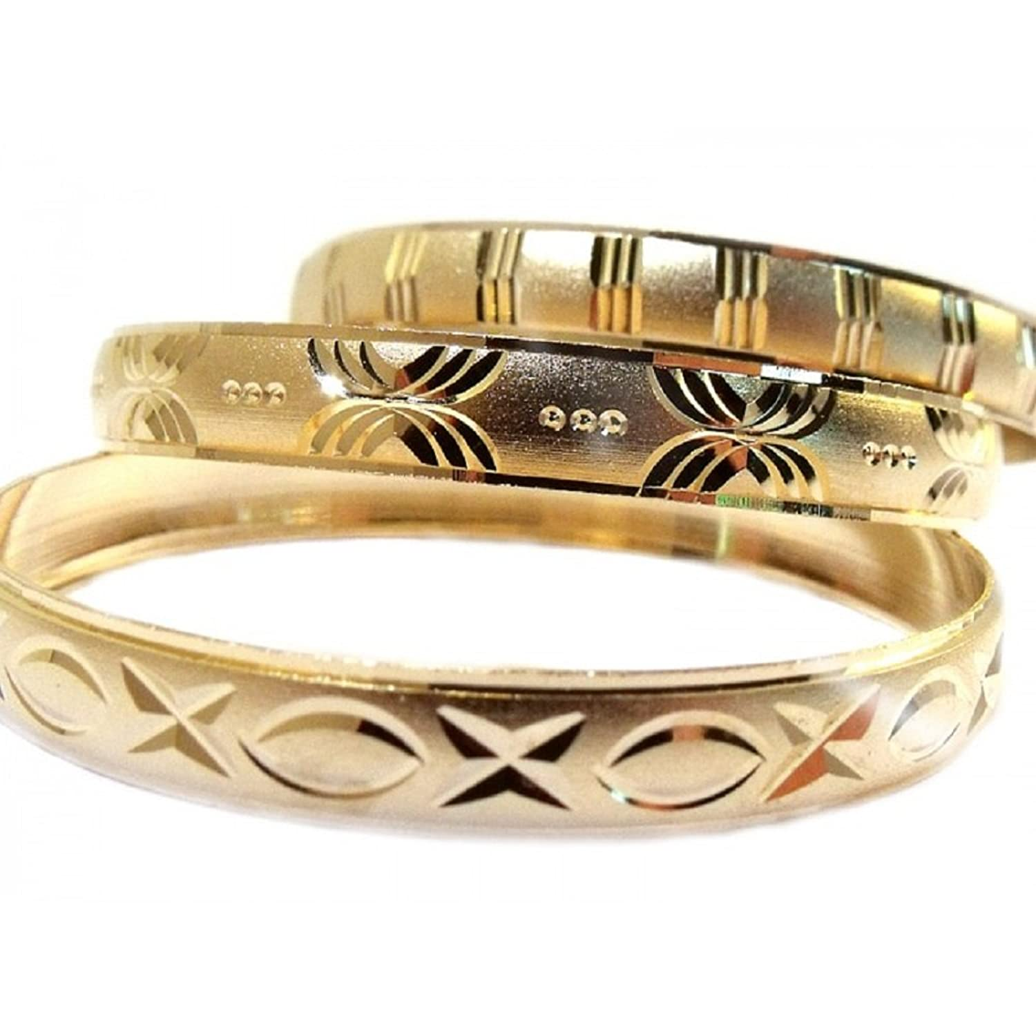 inexpensive bangles gold bracelet xc charm girls k bangle bracelets ecuatwitt