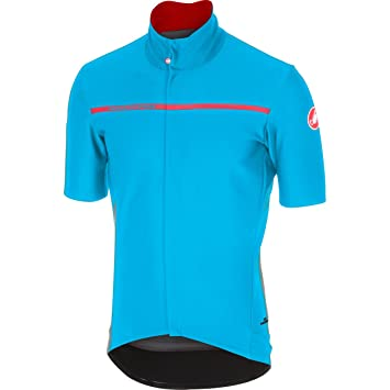 Castelli short sleeve cycling jersey 2018 Gabba 3 Sky Blue a04579f84