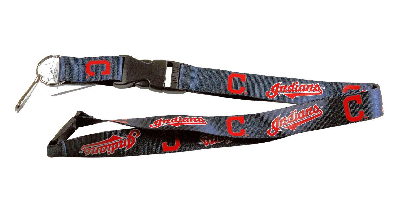 Amazon.com: Cleveland Indians MLB Lanyard Llavero ID Holder ...