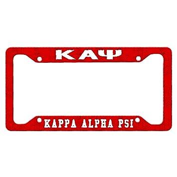 Amazoncom Greekgear Kappa Alpha Psi Custom License Plate Frame