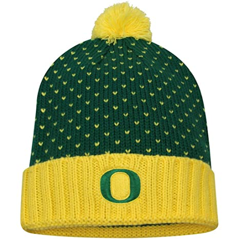 half off 1de98 50960 Image Unavailable. Image not available for. Color  Nike Oregon Ducks  Women s Local DNA Cuffed Knit Hat Beanie ...