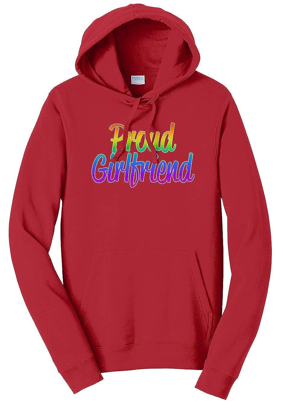 Tenacitee Unisex Proud Girlfriend Sweatshirt