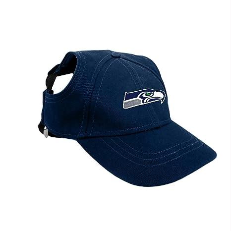 Amazon.com   Seattle Seahawks Pet Baseball Hat - Small   Pet Supplies 83762ffa779