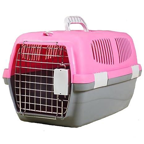 Love pet Caja de Aire para Mascotas Maleta Portátil para automóvil Cat Jaula para Perros Perro