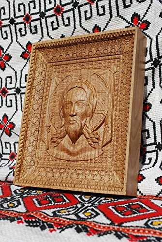 Veil of Veronica Religious icons Personalized engraved gift Wood Carved religious wall decor FREE ENGRAVING FREE SHIPPING by Woodenicons Artworkshop ''Tree of life'' (Image #1)