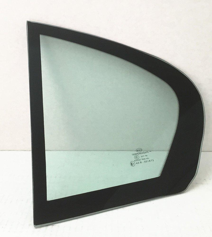 NAGD for 2004-2007 BMW 525i 525xi 530i 530xi 2004-2005 BMW 545i 4 Door Sedan Driver//Left Side Rear Vent Window Replacement Glass