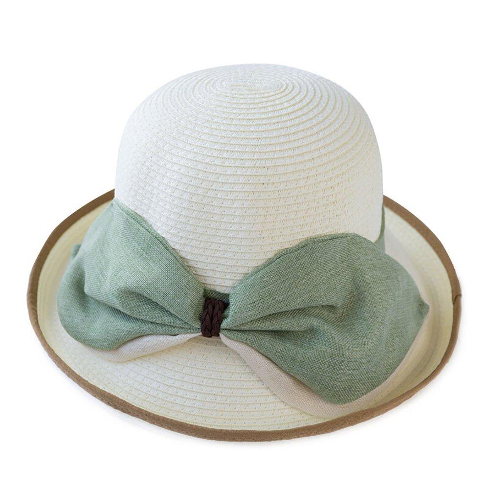 Prairie straw hat La Sra. Summer sunscreen beach cap pequeño fresco ...