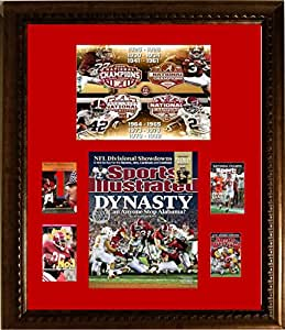 Framed Art -Alabama Sports Illustrated Championship Series- 16 x 20 Collage