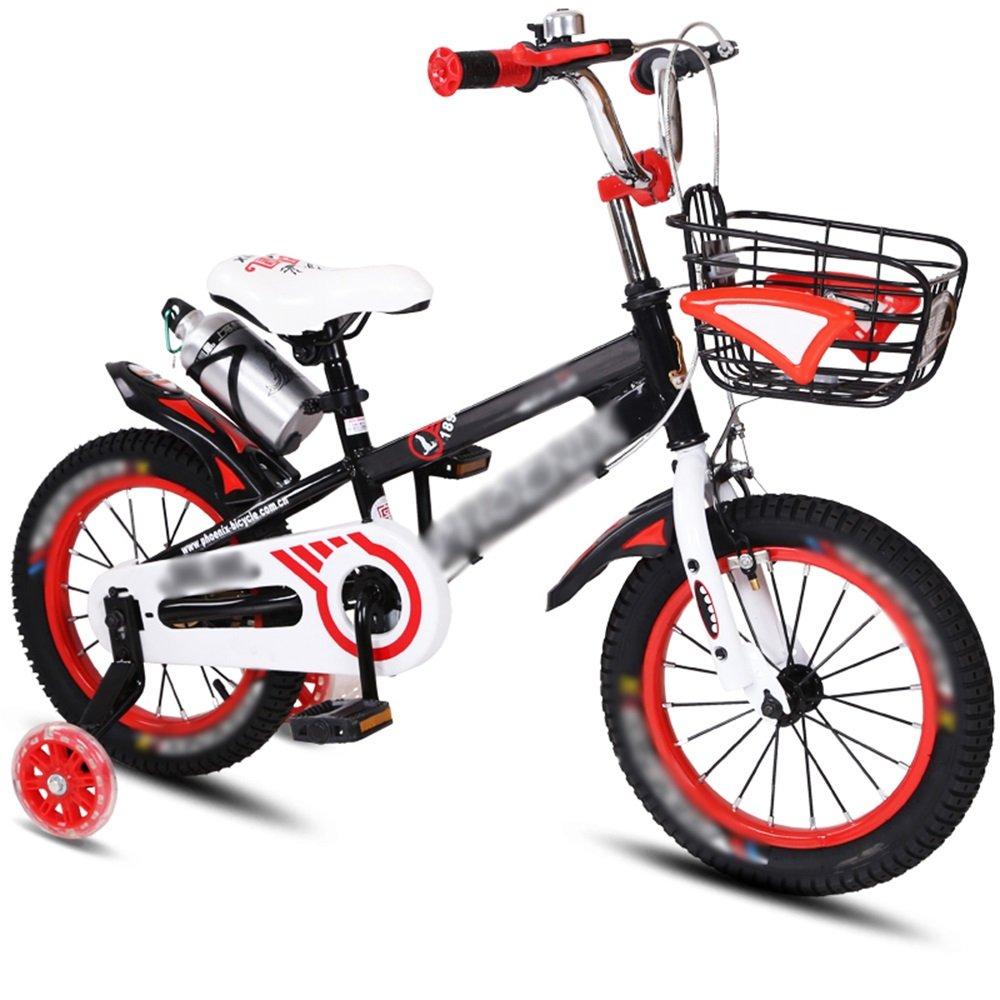 FEIFEI 子供用自転車ベビーキャリッジ12/14/16/18インチマウンテンバイクブルーオレンジレッドイエロー環境保護材料 ( 色 : 赤 , サイズ さいず : 12 inch ) B07CRLPTLK 12 inch|赤 赤 12 inch