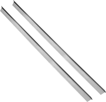 Amazon Com Vance Long Stainless Steel Counter Trim Kit 2 Pack Backless Or Slide In Stoves 23 3 4 Inch Heat Resistant Oven Gap Filler Seals Gaps Between Counter And