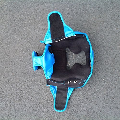 Replacement Blue Boxing and Jousting Helmet and Headgear with Reinforced Seams for Interactive Inflatable Fighting Arena or Ring Games, Universal Size by TentandTable (Image #2)
