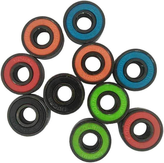 SKY 3PCS 608 híbridos rodamientos de bolas para Tri-Spinner Hand Spinner EDC juguete Fidget (multicolor): Amazon.es: Juguetes y juegos