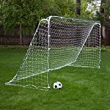 The Franklin Soccer Goal Tournament-level Play Soccer Net Is Also an Excellent Choice As a Backyard Kids Soccer Goal. This Soccer Goal Net's Heavy-duty Pipes and Reinforced Beams Make for a Goal That's Adaptable for Either League or Fun Play 12′ X 6′