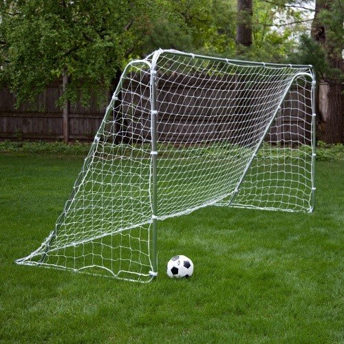 The Franklin Soccer Goal Tournament-level Play Soccer Net Is Also an Excellent Choice As a Backyard Kids Soccer Goal. This Soccer Goal Net's Heavy-duty Pipes and Reinforced Beams Make for a Goal That's Adaptable for Either League or Fun Play 12' X 6'