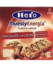 Hero Muesly Energia Barritas de Chocolate Pack de 6 x 25 g
