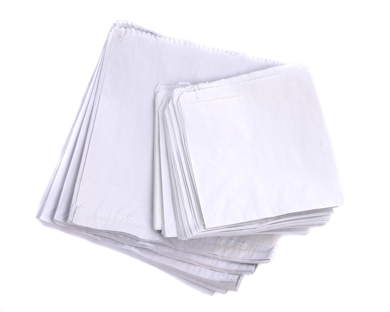 100 Sulphite White Paper Bags 7