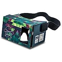 Google Cardboard POP! CARDBOARD 3.0 + FREE Head Strap. Made in Germany Inspired By Google Cardboard 2.0. 3d Glasses…