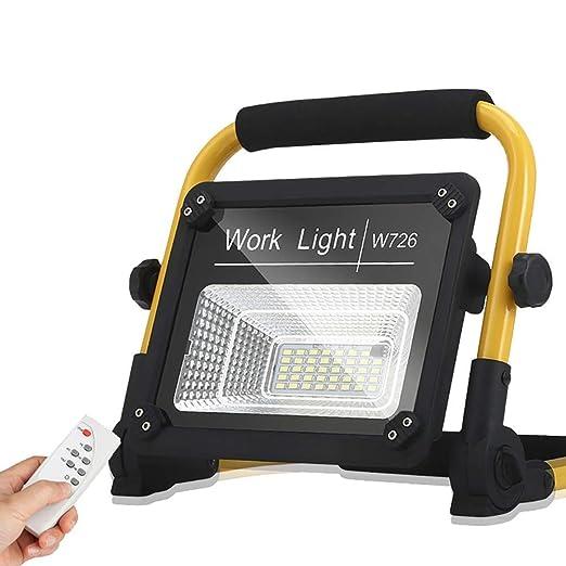 Wapipey 120W LED portátil Luz de Trabajo Proyector IP67 ...