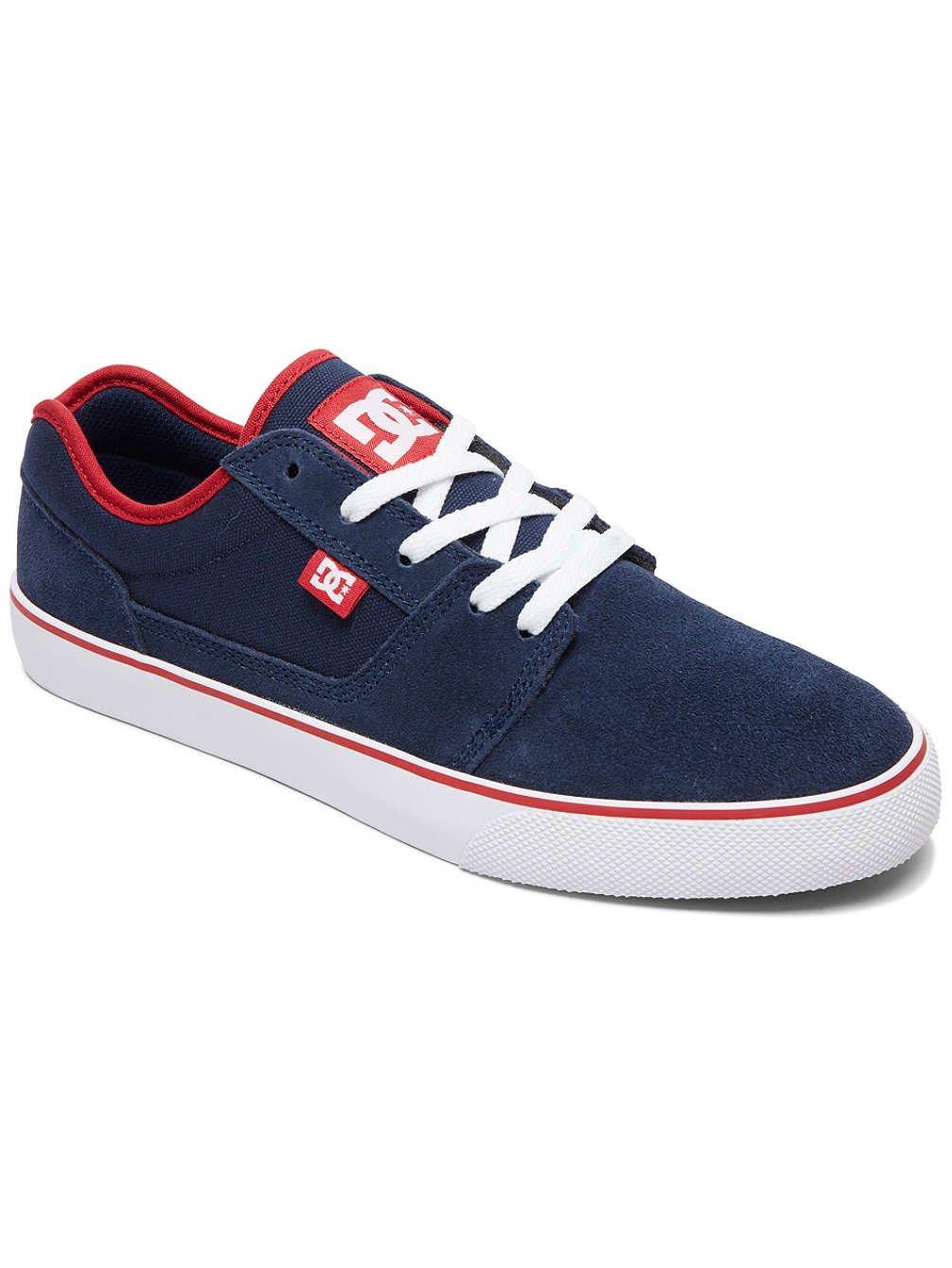 DC TONIK Unisex-Erwachsene Sneakers  40.5 EU|Navy/Red