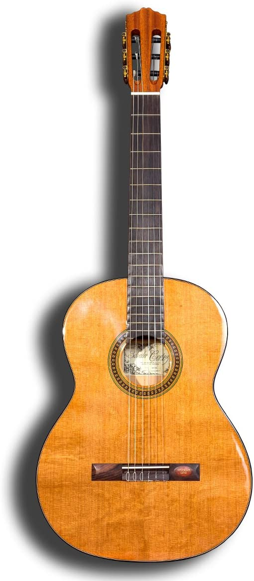 Guitarra clásica Salvador Cortez CC-08: Amazon.es: Instrumentos ...