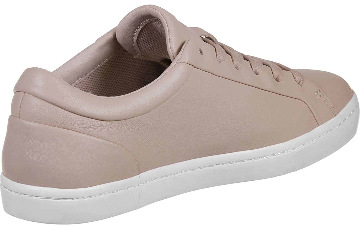 f92c1a266b218 Lacoste Straight Set Trainers Nude