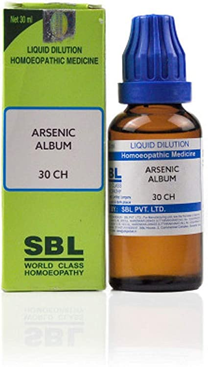 Amazon.com: SBL Arsenic Album 30 CH (30ml) Homeo for Gas, Indigestion,  Acidity: Health & Personal Care