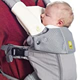 Líllébaby Organic Chest Bib and Organic Teething Pads, Natural - Organic Cotton Teething Pad for Baby Carrier