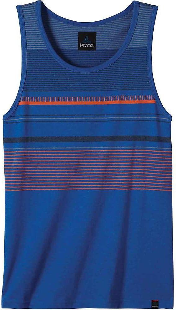 Sleeveless Men/'s T-Shirt Future Blue Prana Throttle Tank