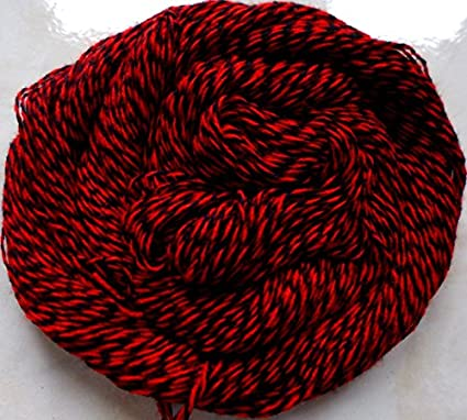 Amazoncom Red Black Twist Crochet Knitting Fingering Weight Yarn