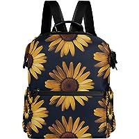 Oarencol Retro słonecznik plecak vintage kwiat kwiecista szkolna torba na książki podróż wędrówki kemping laptop plecak…