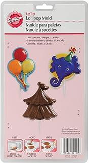 Wilton 2115-2116 Lollipop Mold, Big Top 3 Cavities/3 Designs