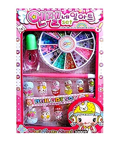 Buy Oytra Single Piece Nail Art Kit For Kids Girls 4 Years To 10
