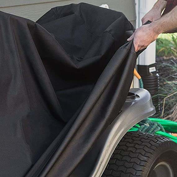 NICEWL Montar A Caballo Cortadora de Césped Tractor Cubre-Coches ...