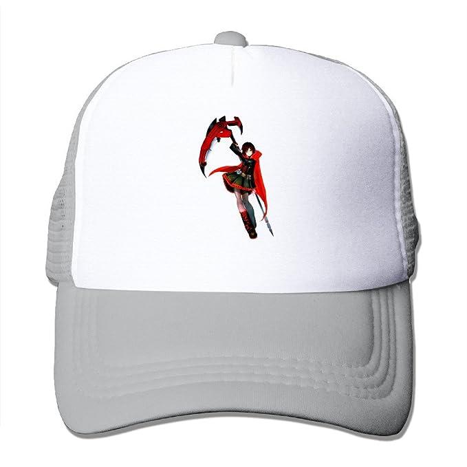 039c2af5690 Sport Rwby Ruby Rose Baseball Cap Snapback Hat Adjustable Unisex One Size  Ash