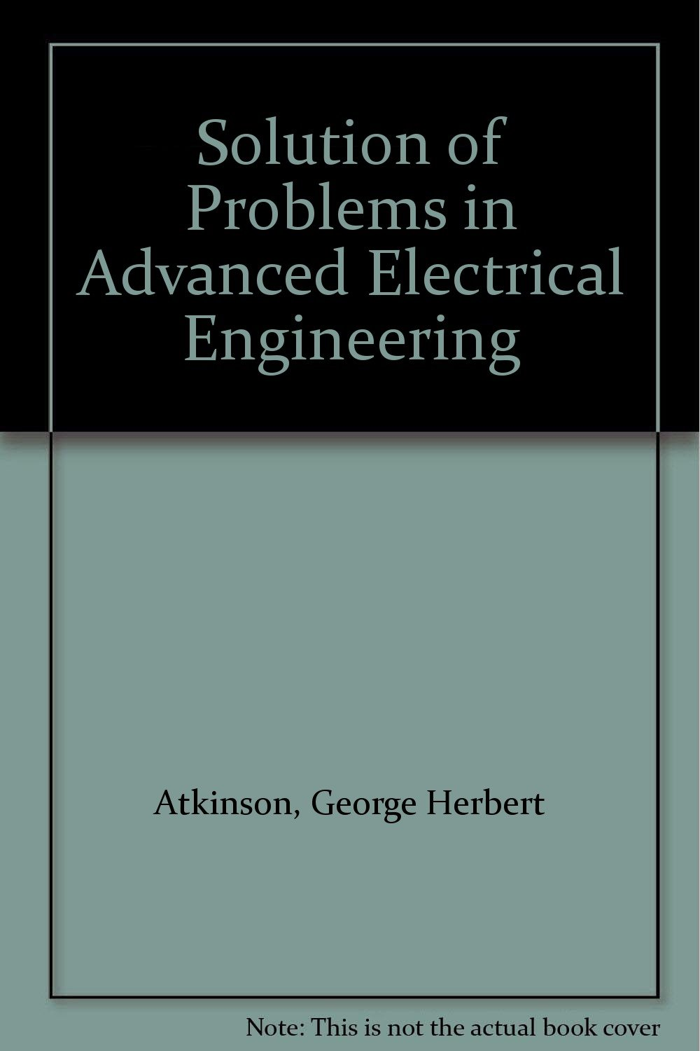 Buy Solution Of Problems In Advanced Electrical Engineering Book Online At Low Prices India