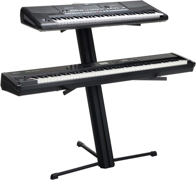 Soporte para Dos teclados con Base de Piano Digital y ...