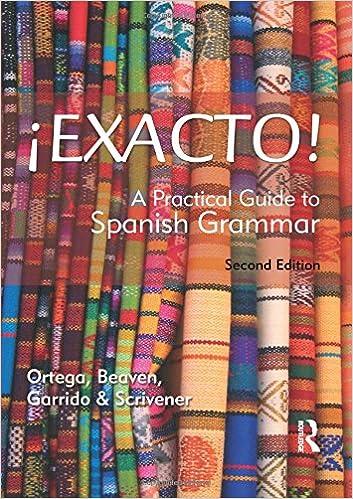 Amazon.com: Â¡Exacto! Second Edition (Routledge Concise Grammars ...