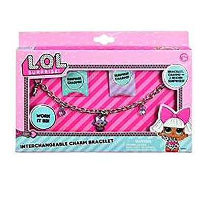 MGA L.O.L. Surprise Interchangeable Charm Bracelet: Toys & Games