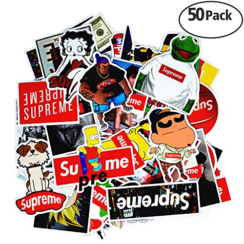 Stickers [50 PCS], Waterproof Vinyl Stickers for Laptop, Car, Bicycle, Helmet, Skateboard, Luggage Dream Level No-Duplicate Stickers per Set