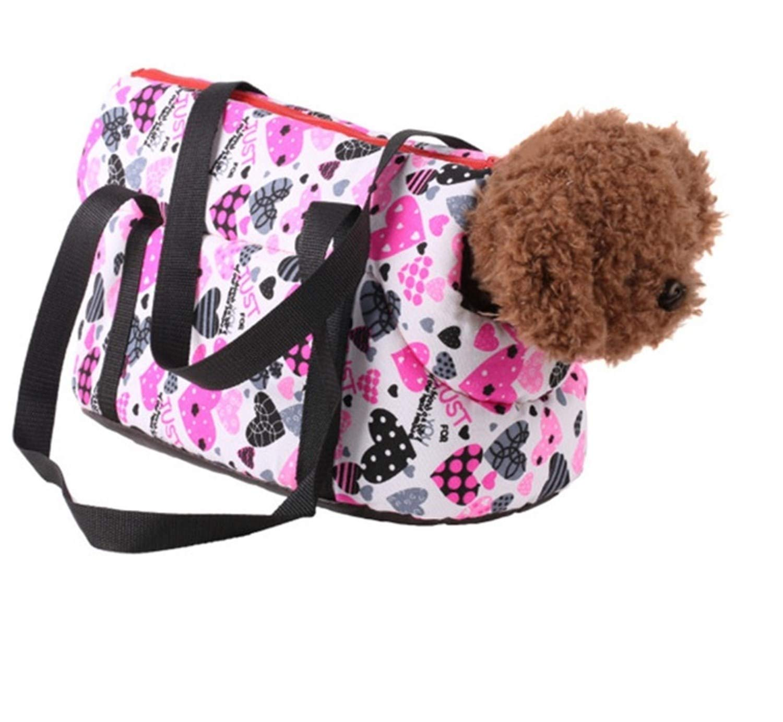 2 L 2 L Monkey Pet Travel Carrier Tote Bag Carrier Soft Travel Bag Shoulder Handbag Small Dog Cat (L, 02)