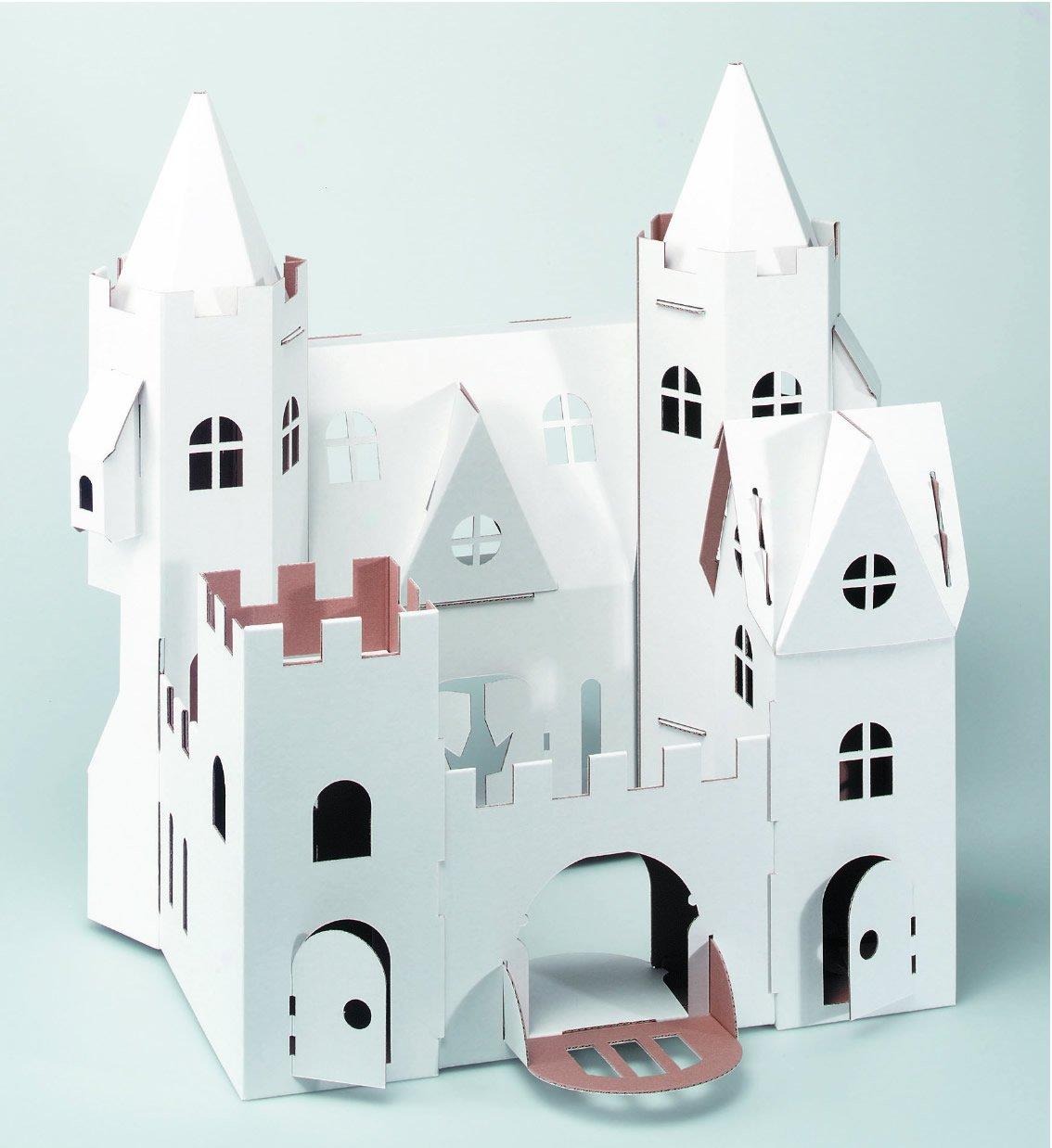 Ritterburg aus Pappe Bestseller - CALAFANT - Märchenschloss