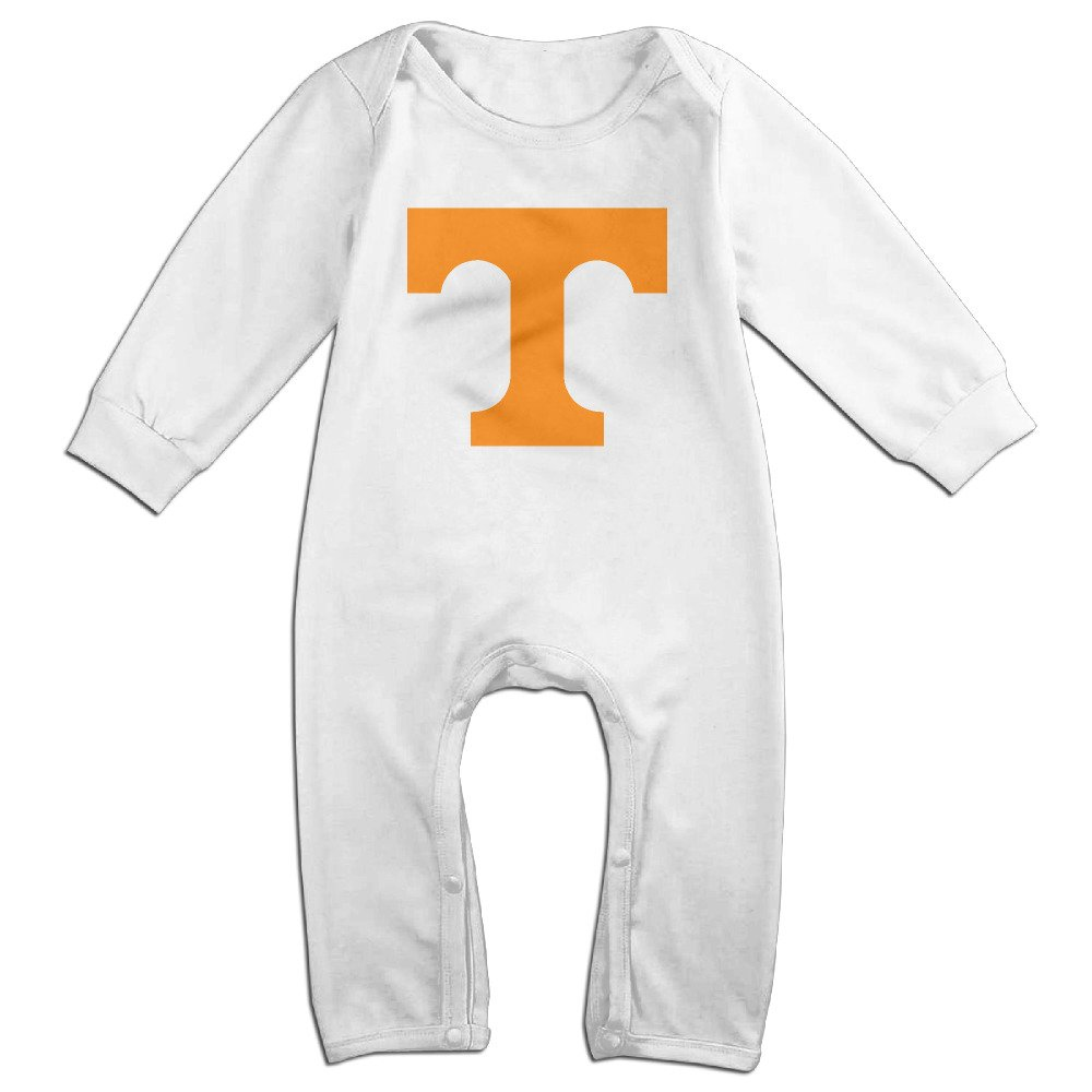 OOKOO Babys University of Tennessee Volunteers Logo Bodysuits Outfits White