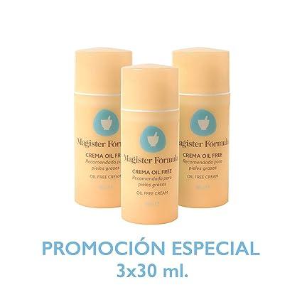 Crema Hidratante Oil Free 95ml | Magister Fórmula | Sin Grasa | Efecto mate | Reparadora