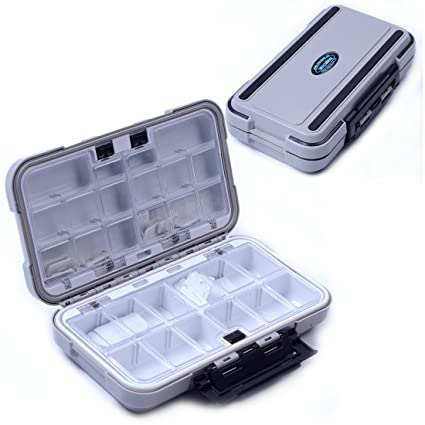 Agepoch Waterproof Fly Fishing Tackle Box Storage Box Fishing Lure Plastic Boxes For Bait Casting Fishing  sc 1 st  Amazon.com & Amazon.com : Agepoch Waterproof Fly Fishing Tackle Box Storage Box ...